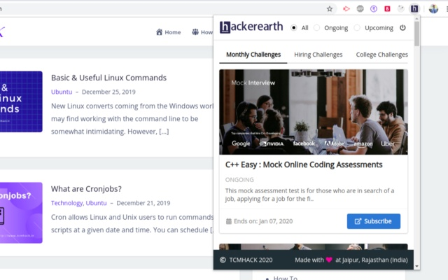 HackerEarth Challenges