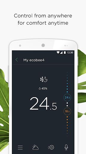 ecobee screenshot 2