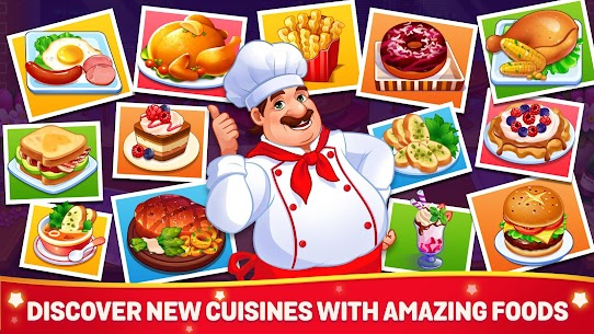Cooking Dream MOD (Free Shopping) 4