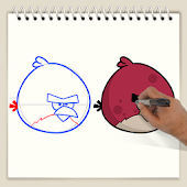 Drawing Lesson Angry Birds