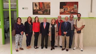 La delegada de Educación, Francisca Fernández, estuvo en la conferencia de Carmona.