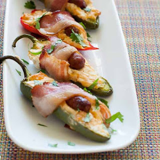 Bacon Wrapped Little Smokie Jalapeno Poppers.
