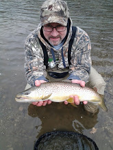 Photo: The photos speak for themselves- trophy brown trout in Ohio!