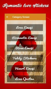 Romantic Stickers & Romantic Smiley For Whatsapp - náhled