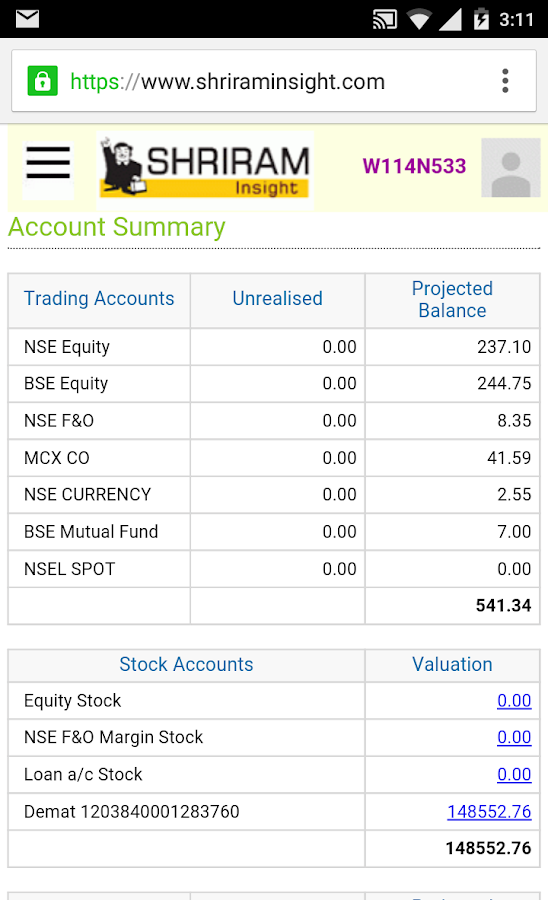 Shriram Netpro Mobile Trading- screenshot