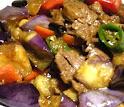 Beef w. Eggplant