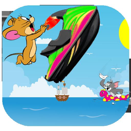 jerry  summer holiday jetski