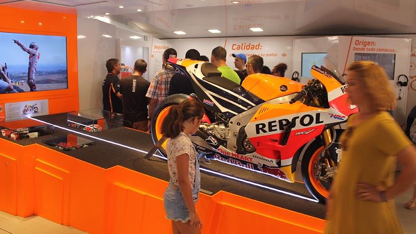 Con esta moto, Marc Márquez se proclamó seis veces Campeón del Mundo de Moto GP.