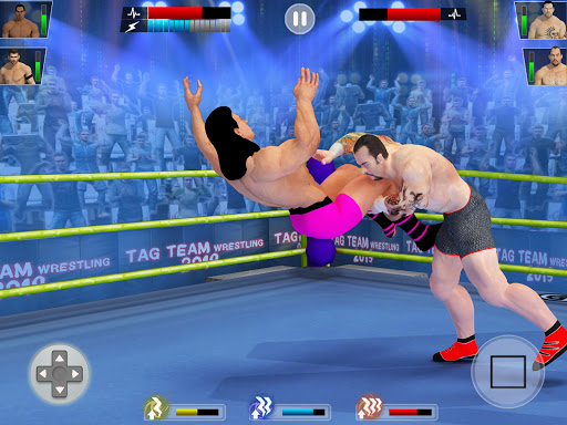 Tag team wrestling 2020: Cage death fighting Stars screenshots 12