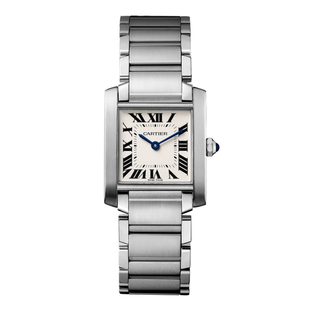 Photo of a Cartier Tank Francaise watch