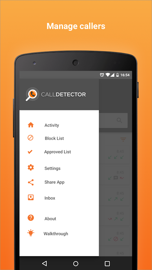 CallDetector- screenshot
