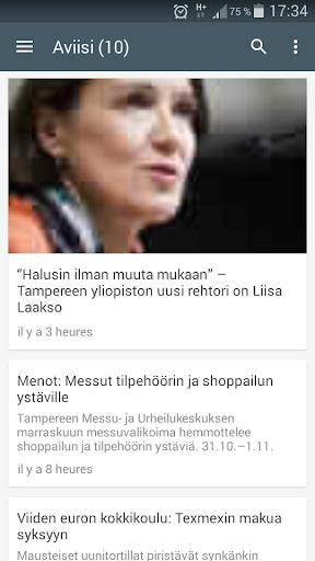 Suomessa Tiedote