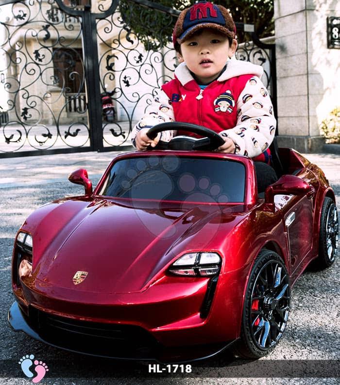 Xe hơi điện cho bé Porsche HL-1718 3