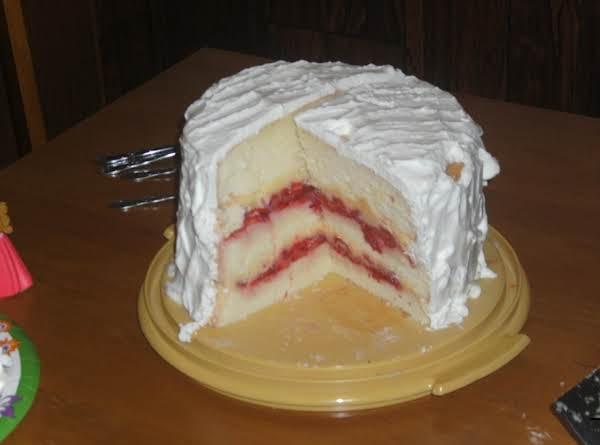 Strawberry Custard Cassata Cake Just A Pinch Recipes