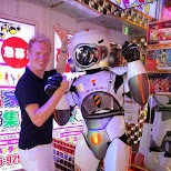 matt at the Robot Restaurant in Kabukicho in Kabukicho, Tokyo, Japan