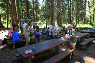 Photo: Lunch - Swauk Campground