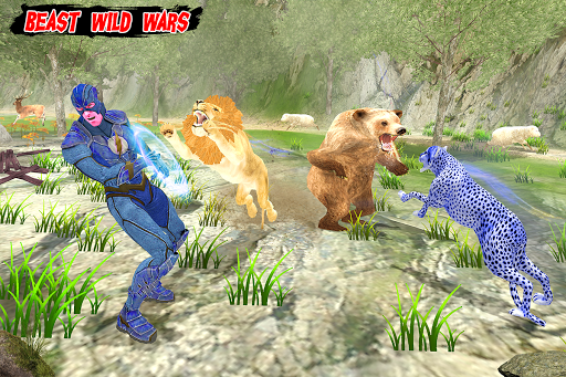 Multi Cheetah Speed hero Vs Wild Animals 1.1 screenshots 5