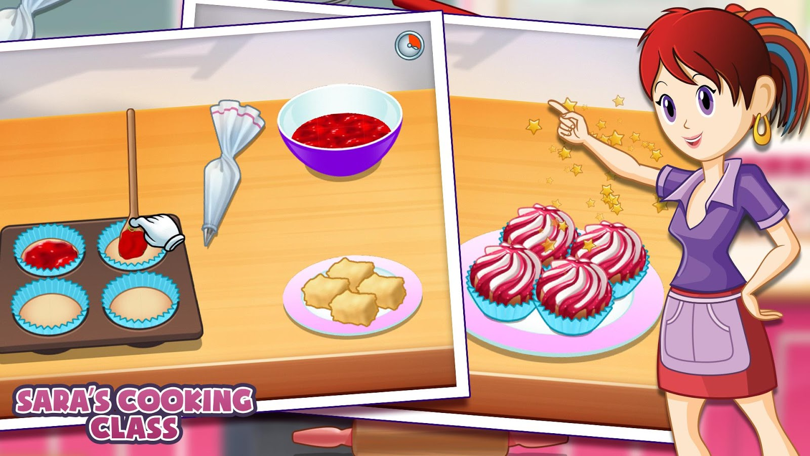 École de cuisine sara - le jeu – applications android sur google play