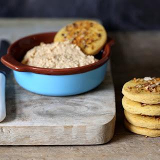 Chickpea & Dukkah Crackers.