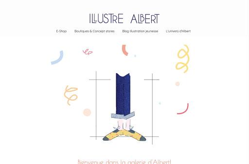 portfolio créé par illustre albert