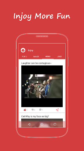 Download Injoy:Video,LOL,OMG,Meme,Gif Google Play softwares