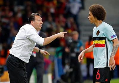 """Marc Wilmots rassurant à propos d'Axel Witsel : """"Il n'est pas encore forfait pour l'Euro"""""""