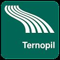 Mapa de Ternopil offline icon