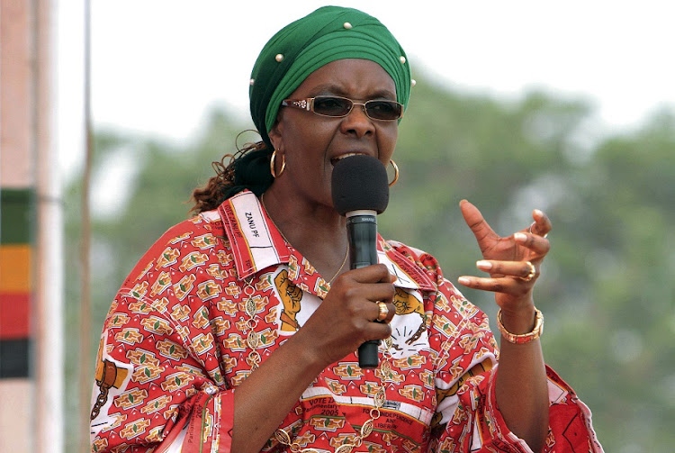 Zimbabwe's First Lady Grace Mugabe . Picture: REUTERS/PHILIMON BULAWAYO
