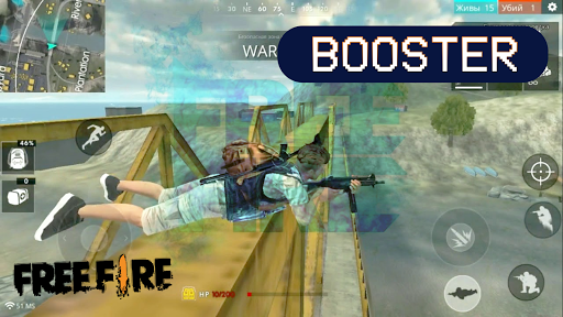 Booster for Free Fire screenshot 1