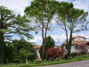Photo: Miasteczko Savogna d'Isonzo, skąd wiejska droga przy autostradzie, prowadzi do rzeki,  gdzie na drugim brzegu jest Mainizza i stała rzymska stacja drogowa z placówką pocztową, mansio Ponte Sonti.  Most łączący oba brzegi, zbudowany z 12 łuków, na 11 filarach i dwóch przyczółkach, musiał mieć długość ponad 200 metrów.  Podczas prac przy budowie autostrady Villesse-Gorizia, na odcinku do Savogna d'Isonzo, niedaleko miejsca gdzie znajdował się rzymski most,  odkryto fragmenty drogi Aquileia-Emona.