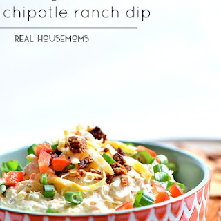 Cheesy Bacon Chipotle Ranch Dip