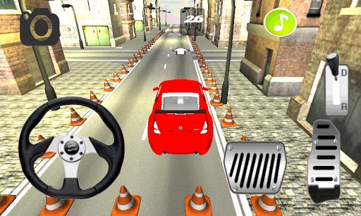 Car Parking 3D Free:Town