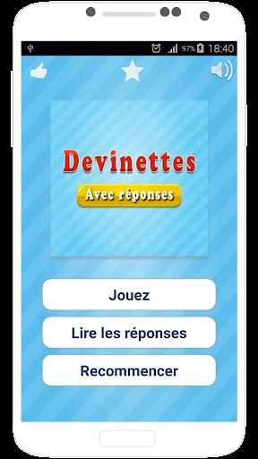 Devinette en Franu00e7ais apkdebit screenshots 1