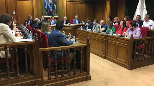La unanimidad, protagonista en el primer Pleno de Diputación