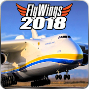 Flight Simulator 2018 FlyWings Free MOD APK aka APK MOD 1.2.9 (Unlocked)