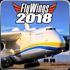 Flight Simulator 2018 FlyWings Free icon
