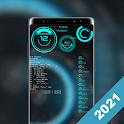 Futuristic Launcher -- Aris Hacker Theme icon