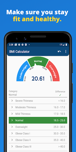 BMI Calculator 1.1.2 screenshots 3