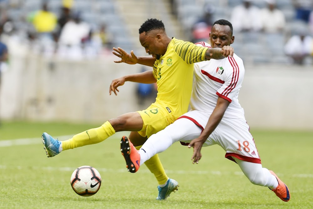 Lacklustre Bafana make heavy weather of disposing of modest Sudan