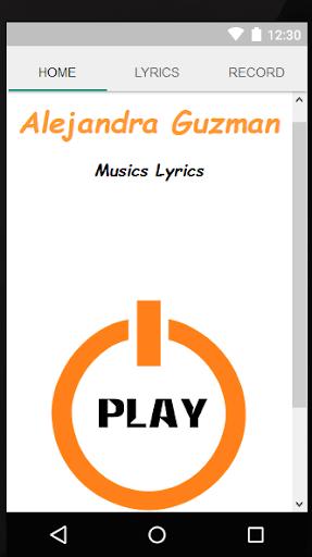 Alejandra Guzman Lyrics