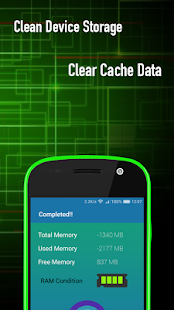 Clean Device Storage Clear Cache Data - náhled