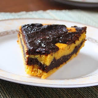 Chocolate Pumpkin Pie (low-fat).
