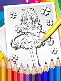 How To Color Pretty Cure - Coloring Book - Apps on Google Play