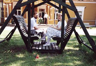 Photo: Bosgårdissa 28.5.1988