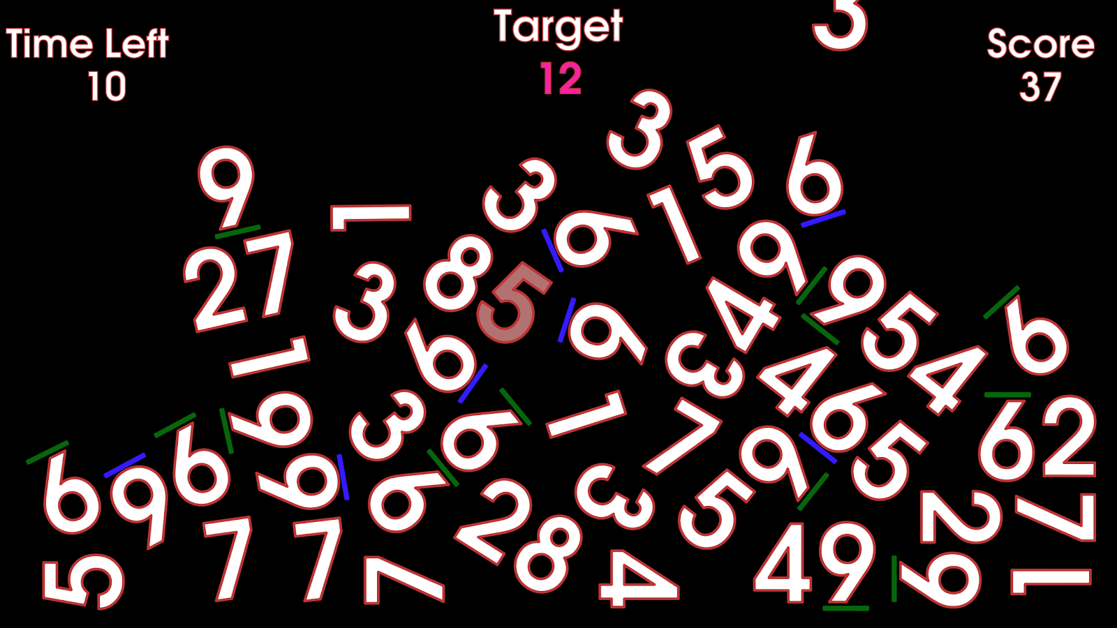 Digits!- screenshot