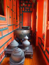 Photo: La salle de bain au Museum National de Bangkok
