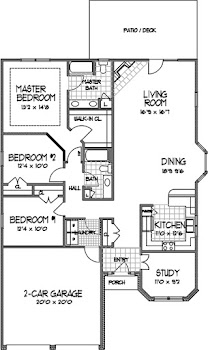 Go to Ranch Floorplan page.
