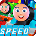3D tomas : Speed crazy train icon