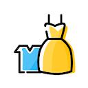 O P Clothes, Chowk, Lucknow logo