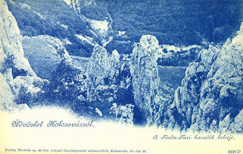 Photo: Cheile Tureniului - interbelic  sursa, http://postcards.hungaricana.hu/hu/225845/